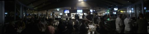 Another venue another big crowd at Tappa's trivia
