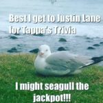 Justin Lane Each Wednesday Night for Tappa's Trivia!!