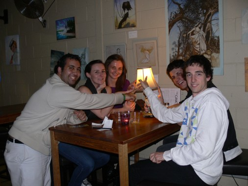 LAST WEEKS WNNERS AT THE CAVE.. DO YOU BLIEVE THEY WON BECAUSE ONE TEAM MEMBER RECOGNISED HE MALE PORNSTAR!!